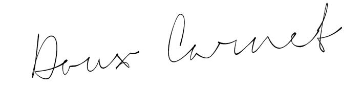 Doux-carnet - Coralie